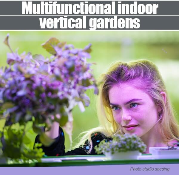 Multifunctional Indoor Vertical Gardens