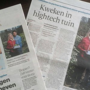 Kweken In Hightech Tuin
