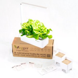 Vegger Kruiden – Smart Indoor Garden – Including Seeds, Growth Medium And Plant's Nutrient
