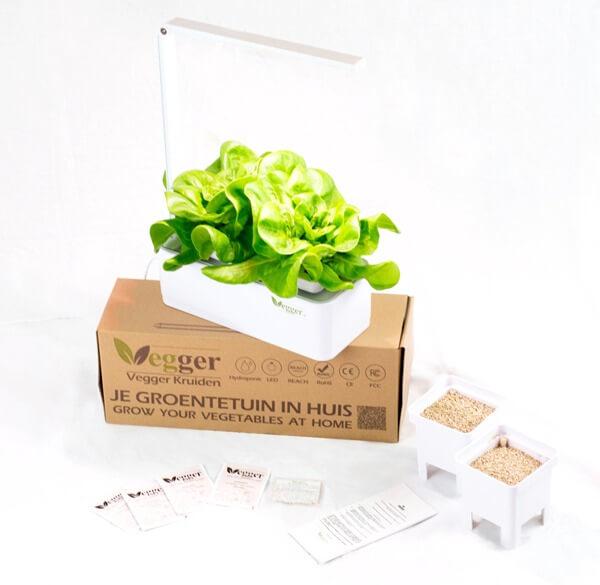 Vegger Kruiden – Smart Indoor Garden – Inclusief Zaden, Groeimedium, Nutriënten