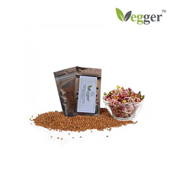 China Rose –  Bio Microgroenten – 4 Zakjes