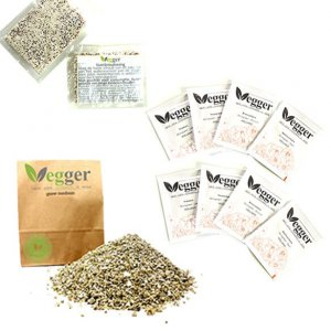 Vegger Accessories 8 Bags Of Seeds – Growing Medium For 4 Vegger Pots – 2 Bags Of Plant's Nutrient