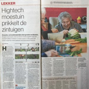 Vegger Hightech Gardens In Nursing Homes