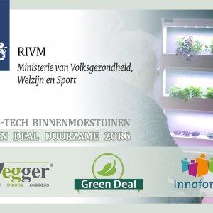 Erkenning Van Vegger's Binnenmoestuinen Door RIVM – Green Deal Duurzame Zorg