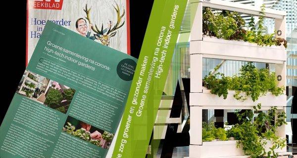 Groene Samenleving Met Vegger: High-tech Indoor Gardens